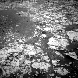 Nasa's Mars rover Curiosity acquired this image using its Right Navigation Camera on Sol 2157, at drive 1760, site number 72