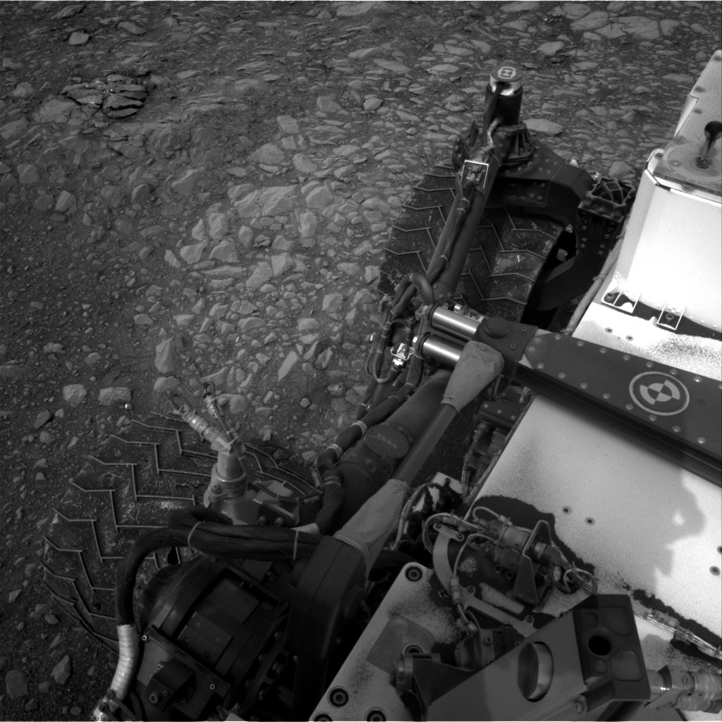Nasa's Mars rover Curiosity acquired this image using its Right Navigation Camera on Sol 2157, at drive 1980, site number 72