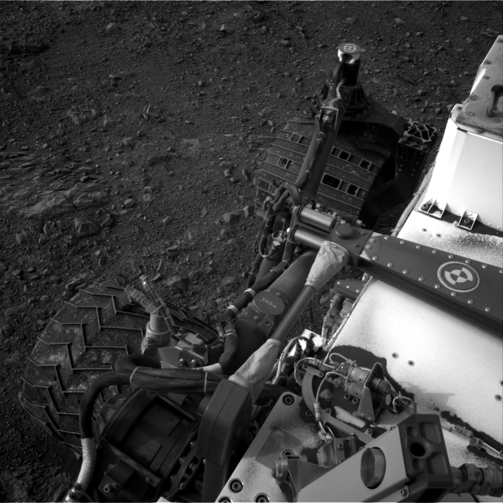 Nasa's Mars rover Curiosity acquired this image using its Right Navigation Camera on Sol 2161, at drive 2272, site number 72