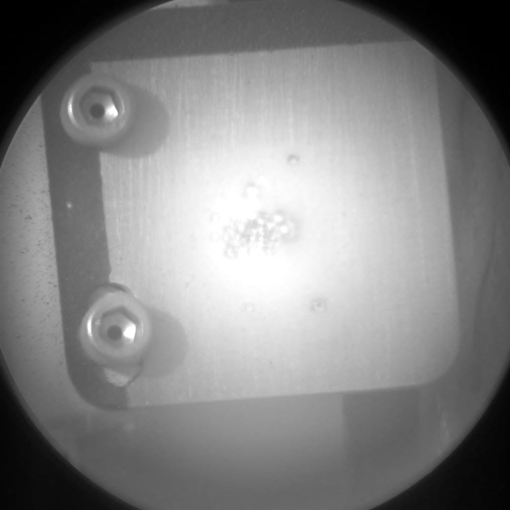 Nasa's Mars rover Curiosity acquired this image using its Chemistry & Camera (ChemCam) on Sol 2162, at drive 2272, site number 72
