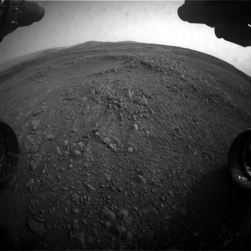 Nasa's Mars rover Curiosity acquired this image using its Front Hazard Avoidance Camera (Front Hazcam) on Sol 2162, at drive 2272, site number 72