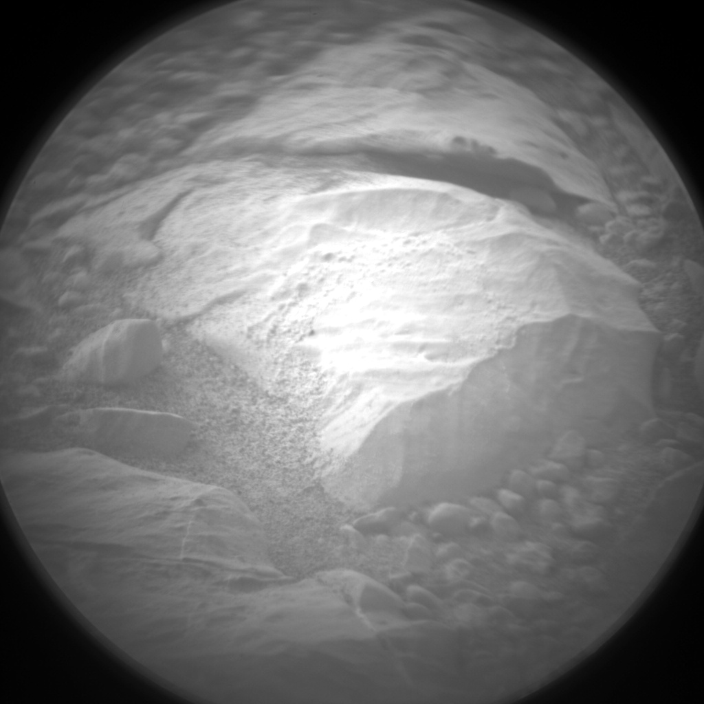 Nasa's Mars rover Curiosity acquired this image using its Chemistry & Camera (ChemCam) on Sol 2163, at drive 2410, site number 72