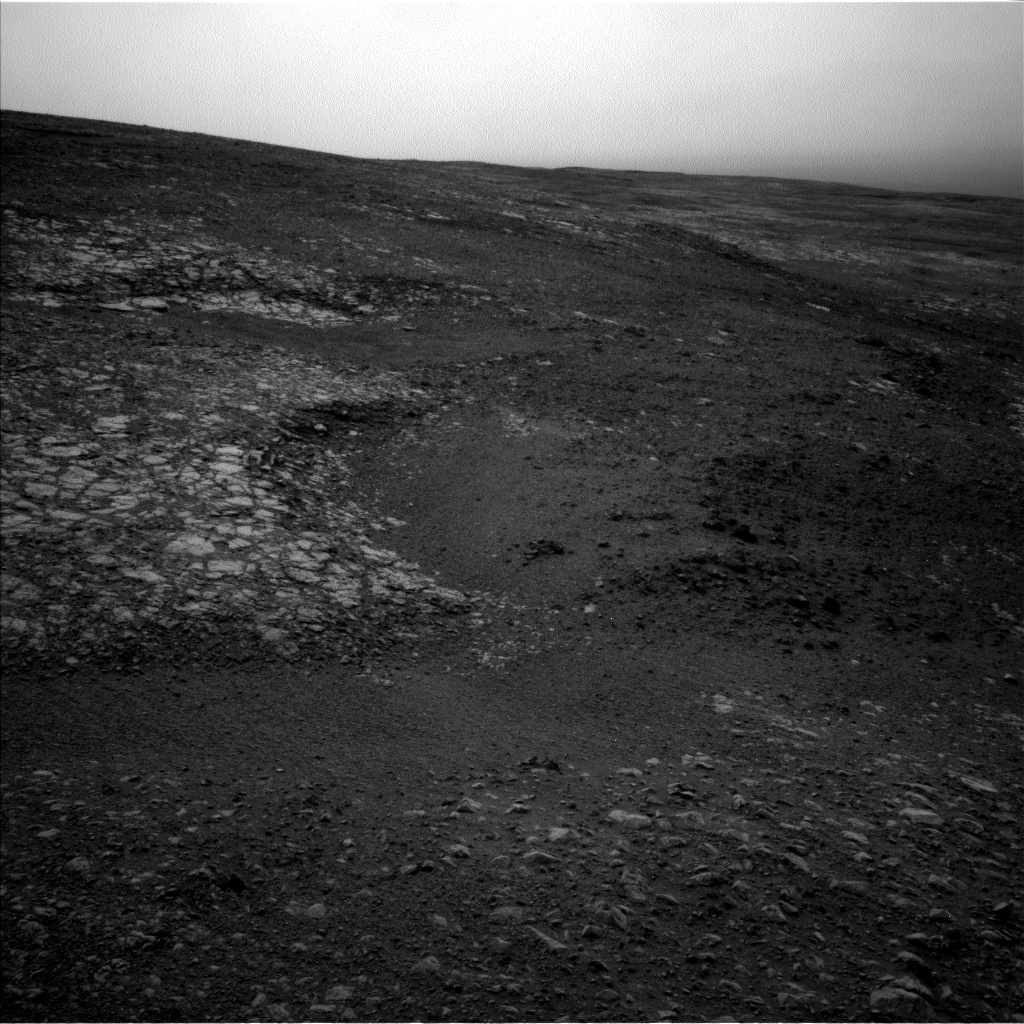 Nasa's Mars rover Curiosity acquired this image using its Left Navigation Camera on Sol 2163, at drive 2410, site number 72
