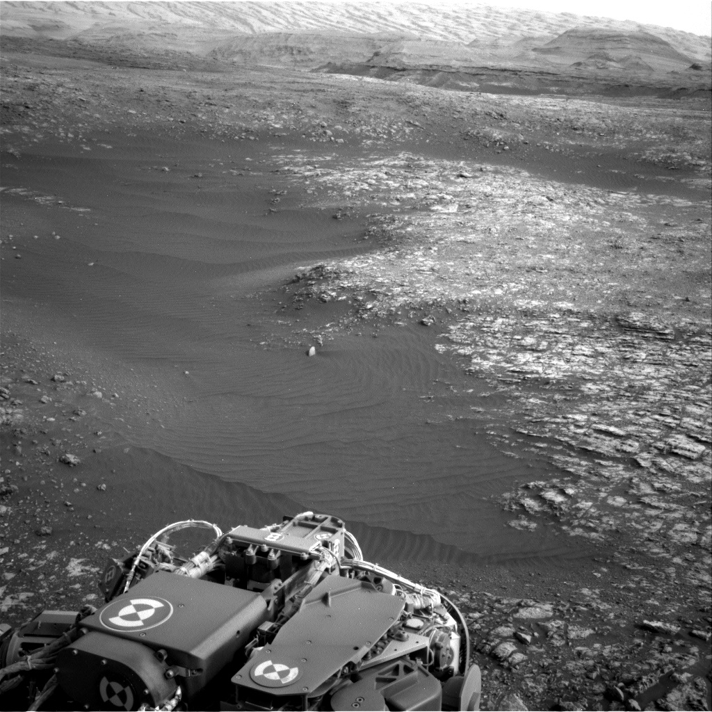 Nasa's Mars rover Curiosity acquired this image using its Right Navigation Camera on Sol 2163, at drive 2410, site number 72