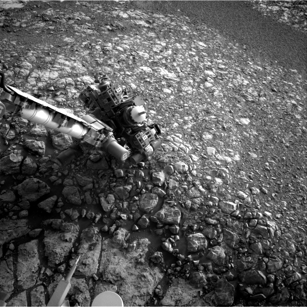 Nasa's Mars rover Curiosity acquired this image using its Right Navigation Camera on Sol 2165, at drive 2410, site number 72
