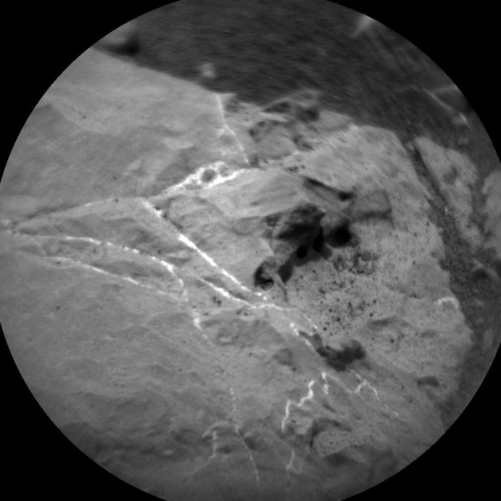 Nasa's Mars rover Curiosity acquired this image using its Chemistry & Camera (ChemCam) on Sol 2165, at drive 2410, site number 72