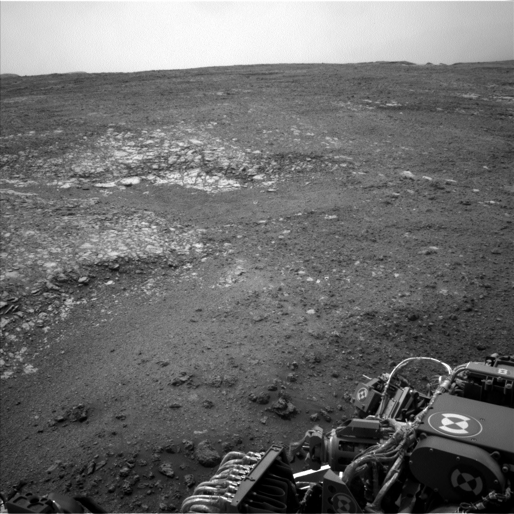 NASA's Mars rover Curiosity acquired this image using its Left Navigation Camera (Navcams) on Sol 2166