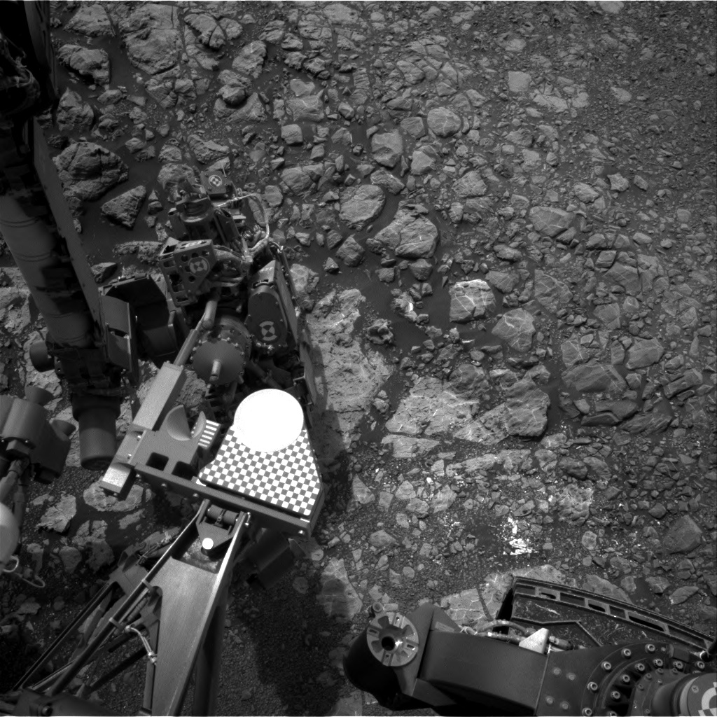 Nasa's Mars rover Curiosity acquired this image using its Right Navigation Camera on Sol 2166, at drive 2410, site number 72