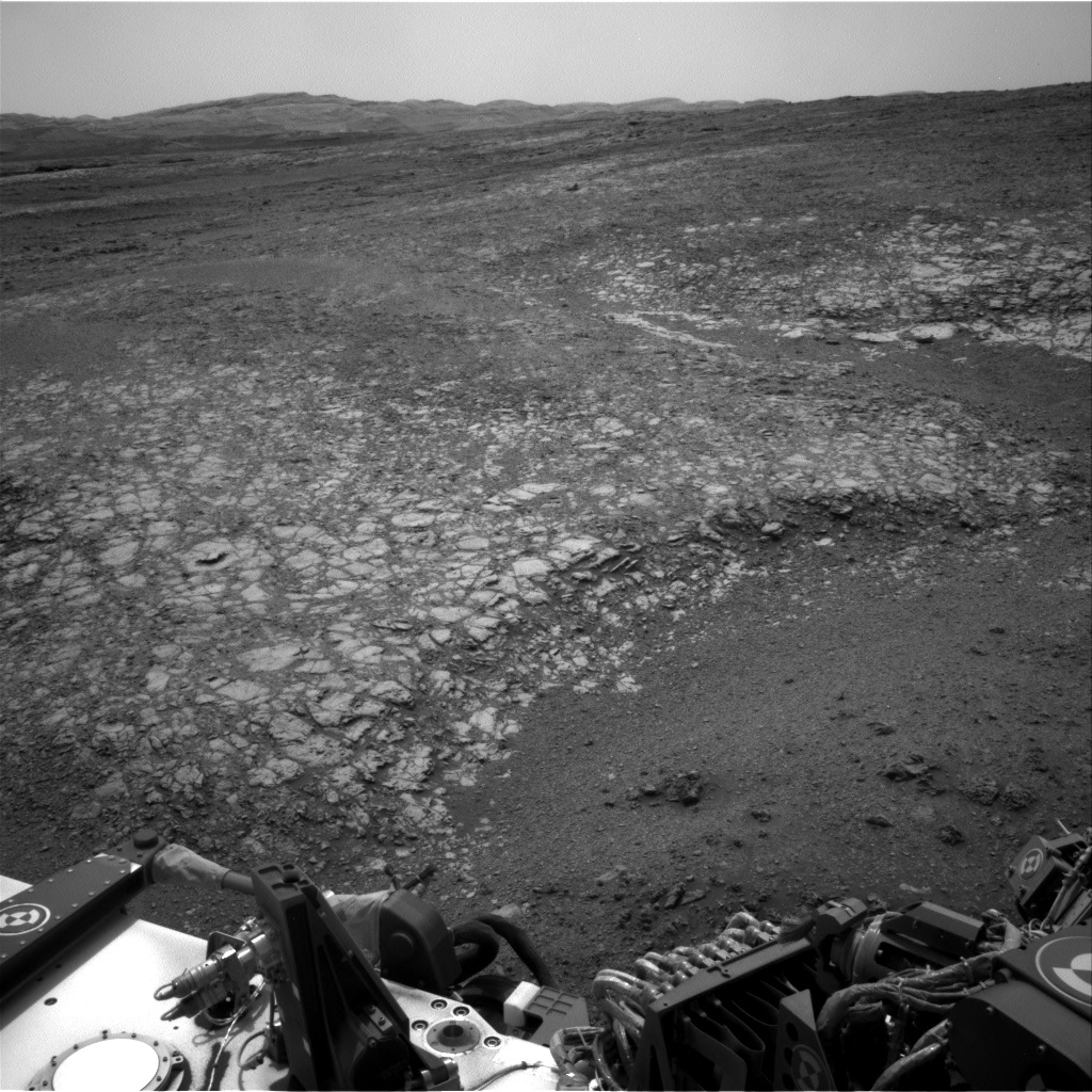 NASA's Mars rover Curiosity acquired this image using its Right Navigation Cameras (Navcams) on Sol 2166