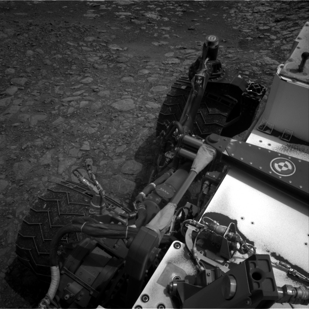 Nasa's Mars rover Curiosity acquired this image using its Right Navigation Camera on Sol 2166, at drive 2464, site number 72