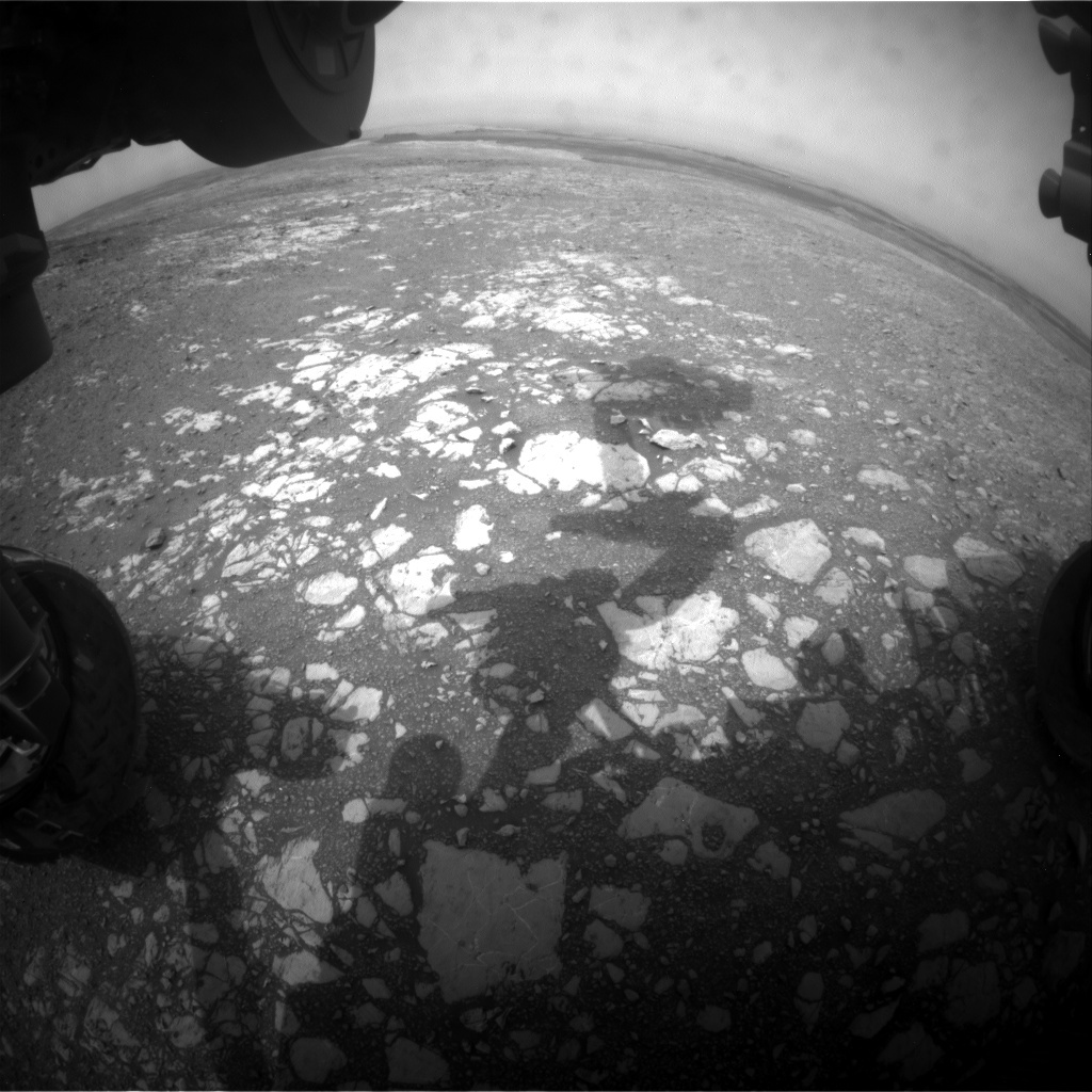 NASA's Mars rover Curiosity acquired this image using its Front Hazard Avoidance Cameras (Front Hazcams) on Sol 2167