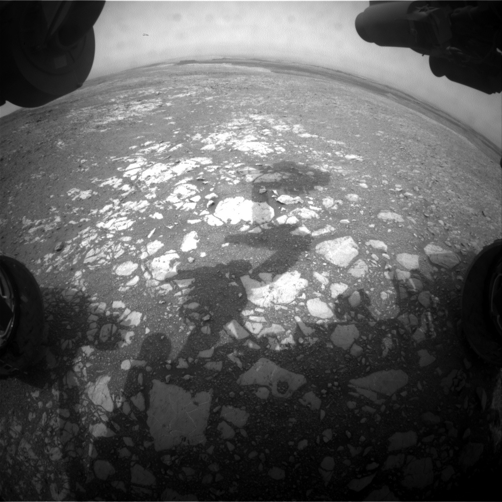 Nasa's Mars rover Curiosity acquired this image using its Front Hazard Avoidance Camera (Front Hazcam) on Sol 2167, at drive 2464, site number 72