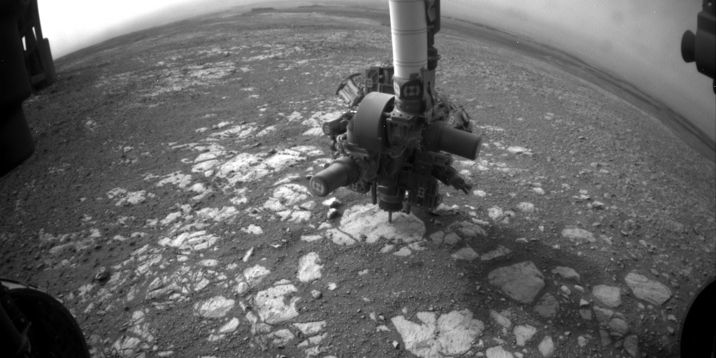 Nasa's Mars rover Curiosity acquired this image using its Front Hazard Avoidance Camera (Front Hazcam) on Sol 2168, at drive 2464, site number 72
