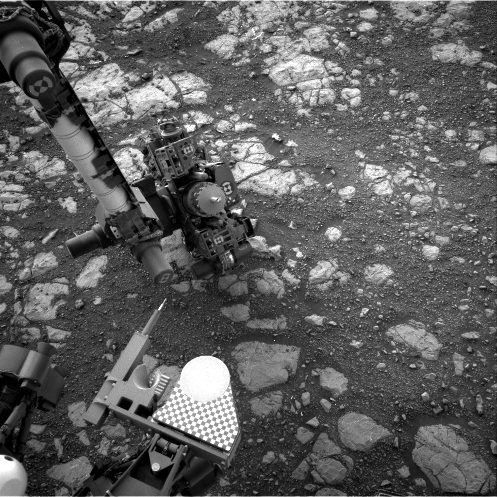 Nasa's Mars rover Curiosity acquired this image using its Right Navigation Camera on Sol 2168, at drive 2464, site number 72