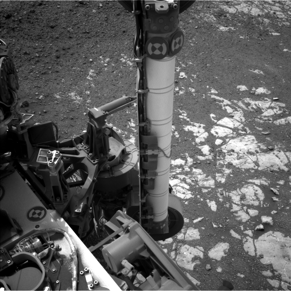 Nasa's Mars rover Curiosity acquired this image using its Left Navigation Camera on Sol 2169, at drive 2464, site number 72