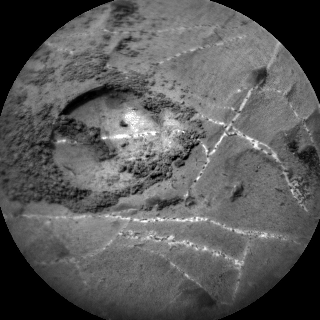 NASA's Mars rover Curiosity acquired this image using its Chemistry & Camera (ChemCam) on Sol 2170
