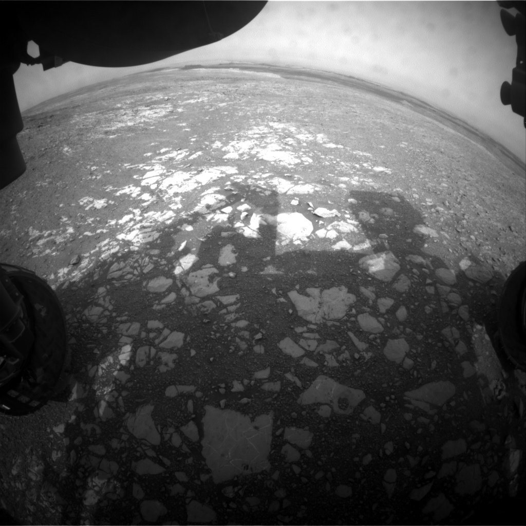 Nasa's Mars rover Curiosity acquired this image using its Front Hazard Avoidance Camera (Front Hazcam) on Sol 2171, at drive 2464, site number 72