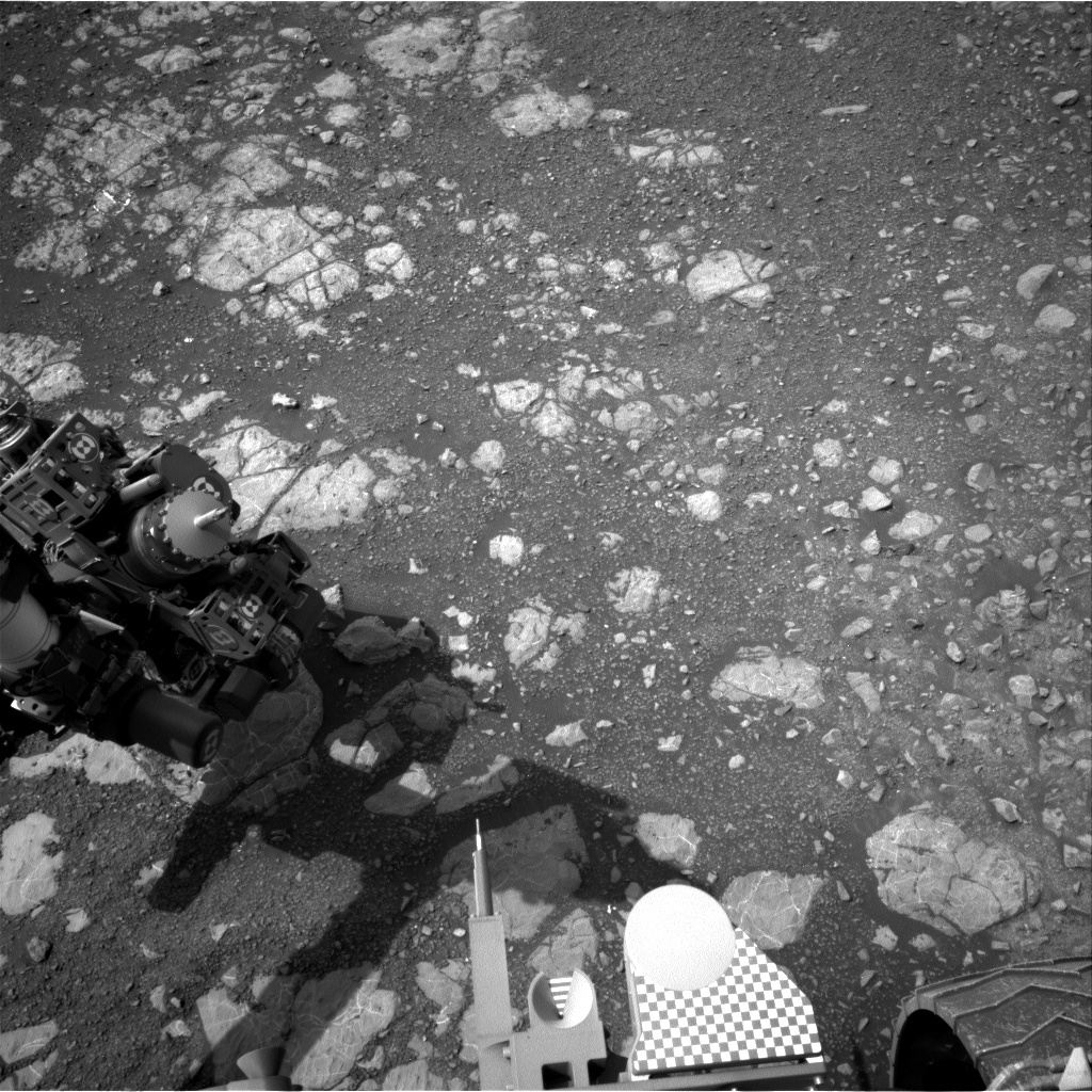NASA's Mars rover Curiosity acquired this image using its Left Navigation Camera (Navcams) on Sol 2209