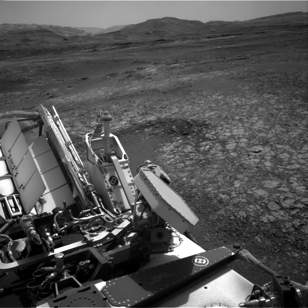 NASA's Mars rover Curiosity acquired this image using its Right Navigation Cameras (Navcams) on Sol 2210