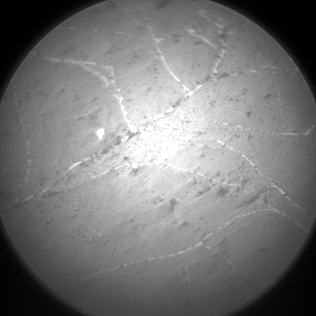 Nasa's Mars rover Curiosity acquired this image using its Chemistry & Camera (ChemCam) on Sol 2217, at drive 0, site number 73