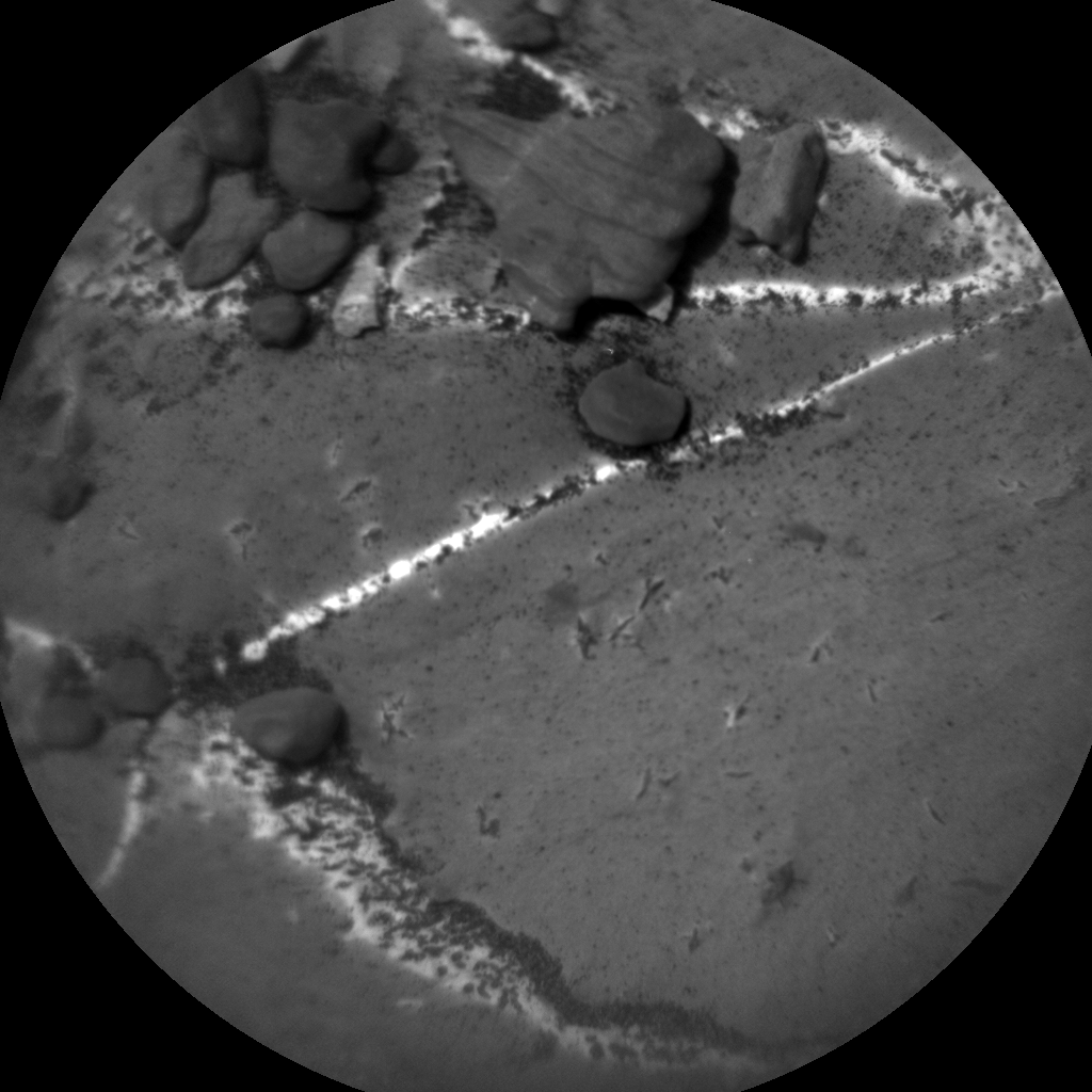 Nasa's Mars rover Curiosity acquired this image using its Chemistry & Camera (ChemCam) on Sol 2218, at drive 0, site number 73