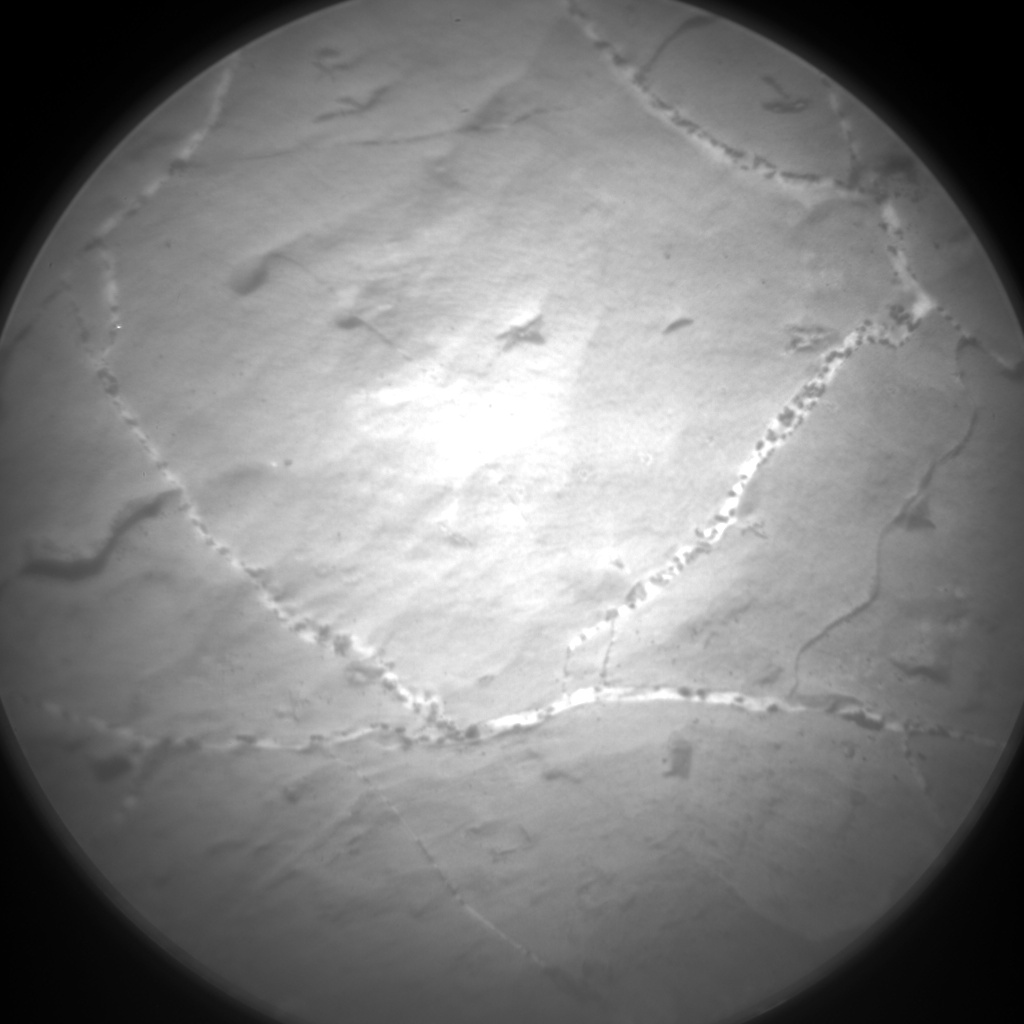 Nasa's Mars rover Curiosity acquired this image using its Chemistry & Camera (ChemCam) on Sol 2219, at drive 46, site number 73