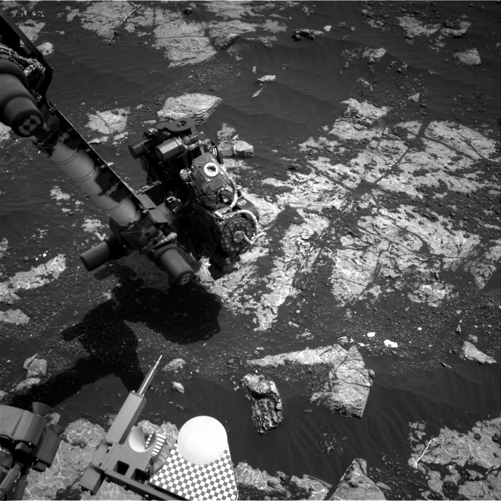 NASA's Mars rover Curiosity acquired this image using its Right Navigation Cameras (Navcams) on Sol 2223