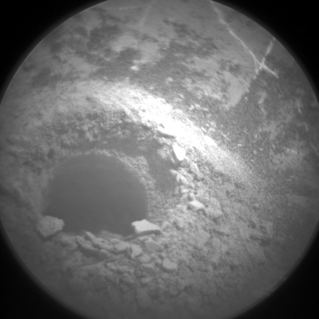 Nasa's Mars rover Curiosity acquired this image using its Chemistry & Camera (ChemCam) on Sol 2225, at drive 550, site number 73