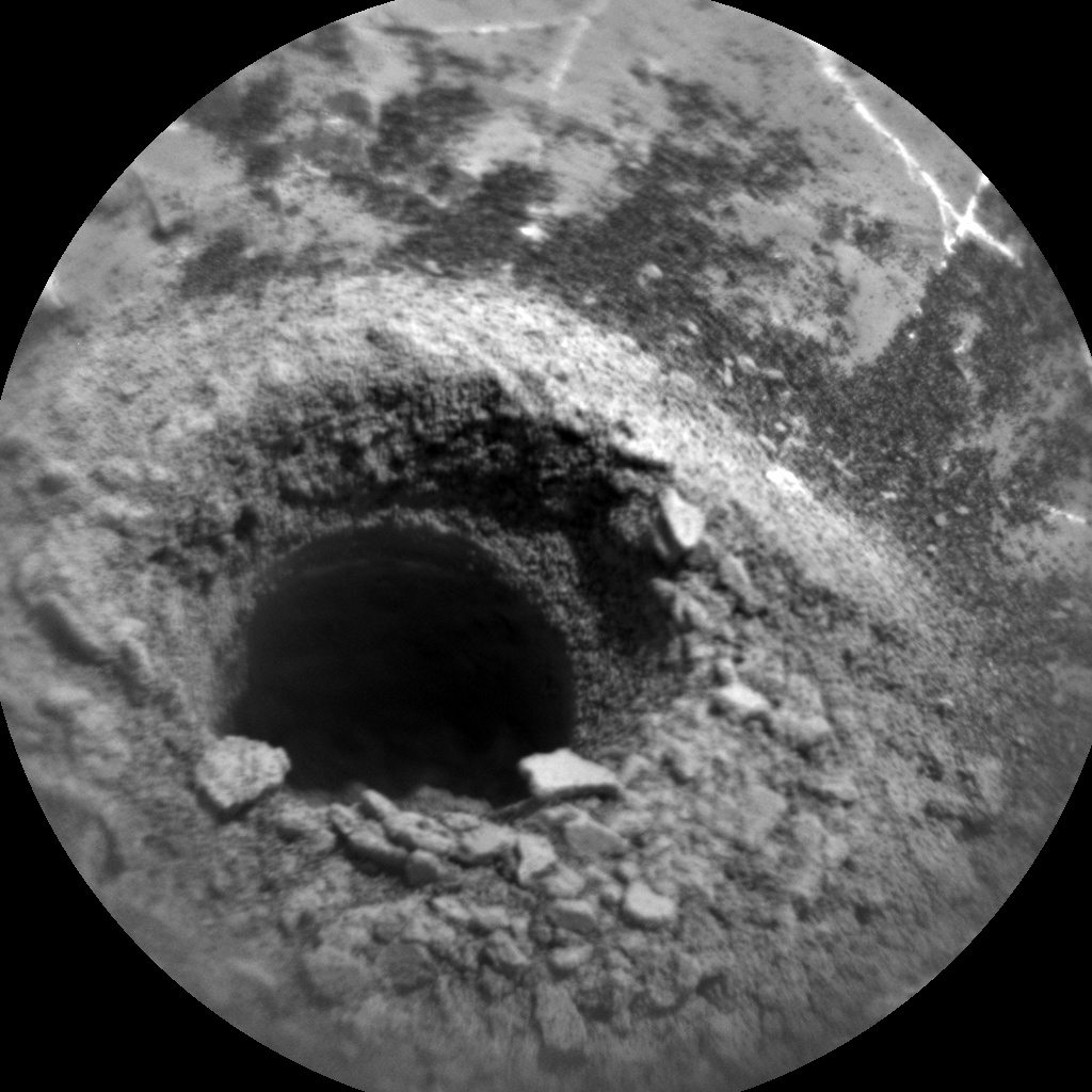 NASA's Mars rover Curiosity acquired this image using its Chemistry & Camera (ChemCam) on Sol 2225
