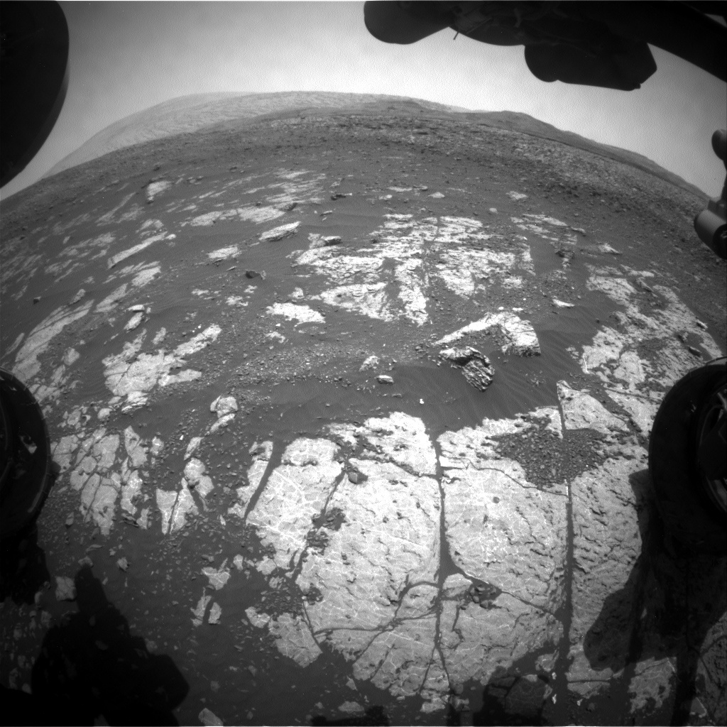 NASA's Mars rover Curiosity acquired this image using its Front Hazard Avoidance Cameras (Front Hazcams) on Sol 2227