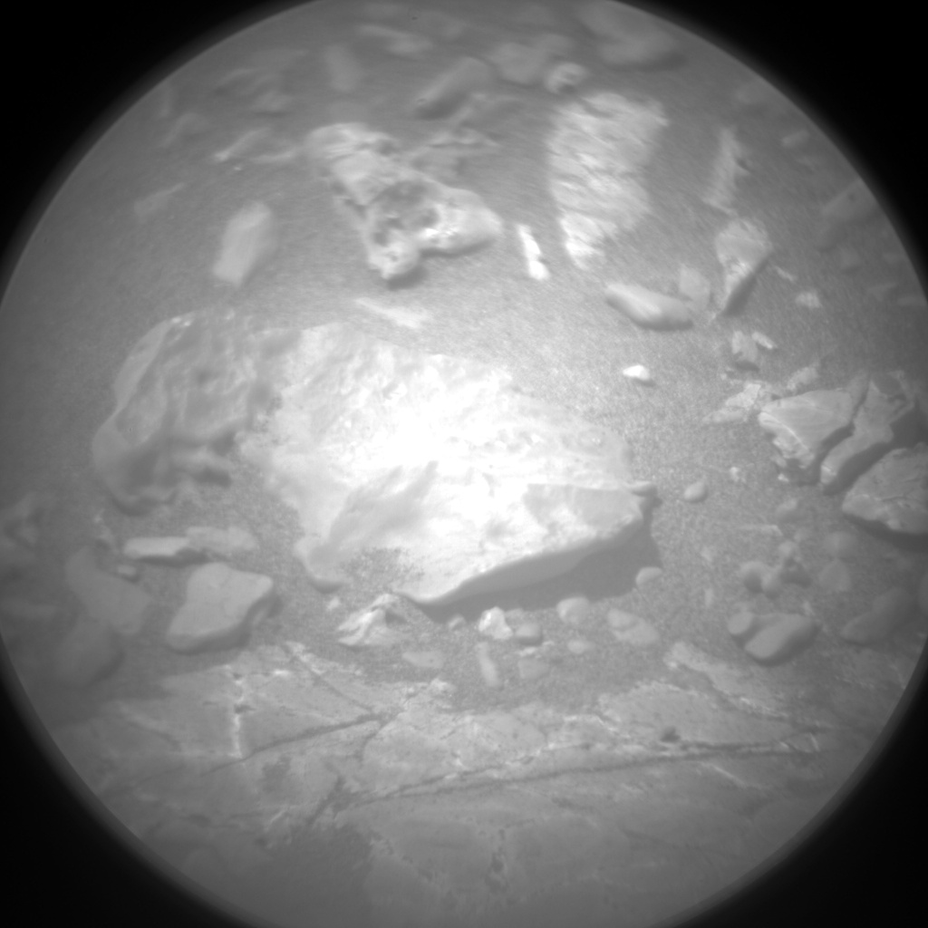 Nasa's Mars rover Curiosity acquired this image using its Chemistry & Camera (ChemCam) on Sol 2233, at drive 550, site number 73