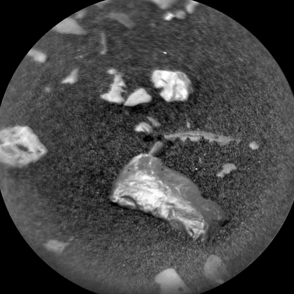 NASA's Mars rover Curiosity acquired this image using its Chemistry & Camera (ChemCam) on Sol 2242