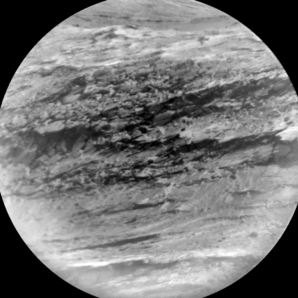 Nasa's Mars rover Curiosity acquired this image using its Chemistry & Camera (ChemCam) on Sol 2242, at drive 550, site number 73
