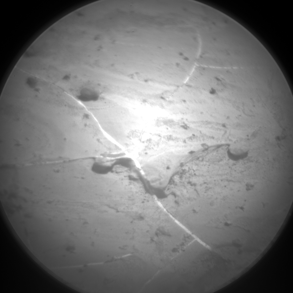Nasa's Mars rover Curiosity acquired this image using its Chemistry & Camera (ChemCam) on Sol 2244, at drive 550, site number 73