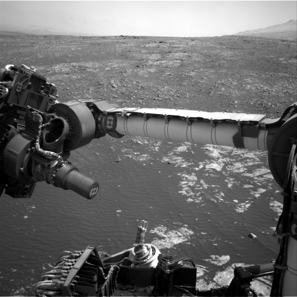 NASA's Mars rover Curiosity acquired this image using its Left Navigation Camera (Navcams) on Sol 2245