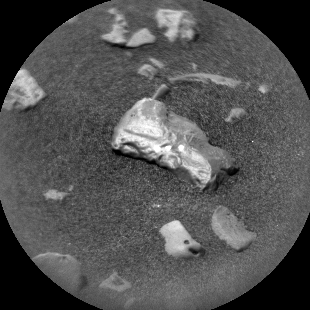 Nasa's Mars rover Curiosity acquired this image using its Chemistry & Camera (ChemCam) on Sol 2245, at drive 550, site number 73