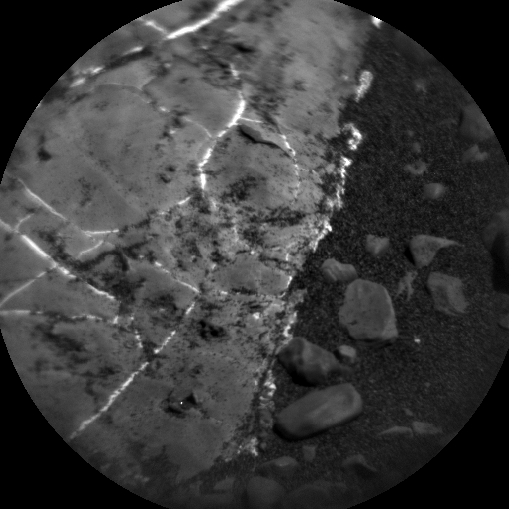 Nasa's Mars rover Curiosity acquired this image using its Chemistry & Camera (ChemCam) on Sol 2246, at drive 550, site number 73