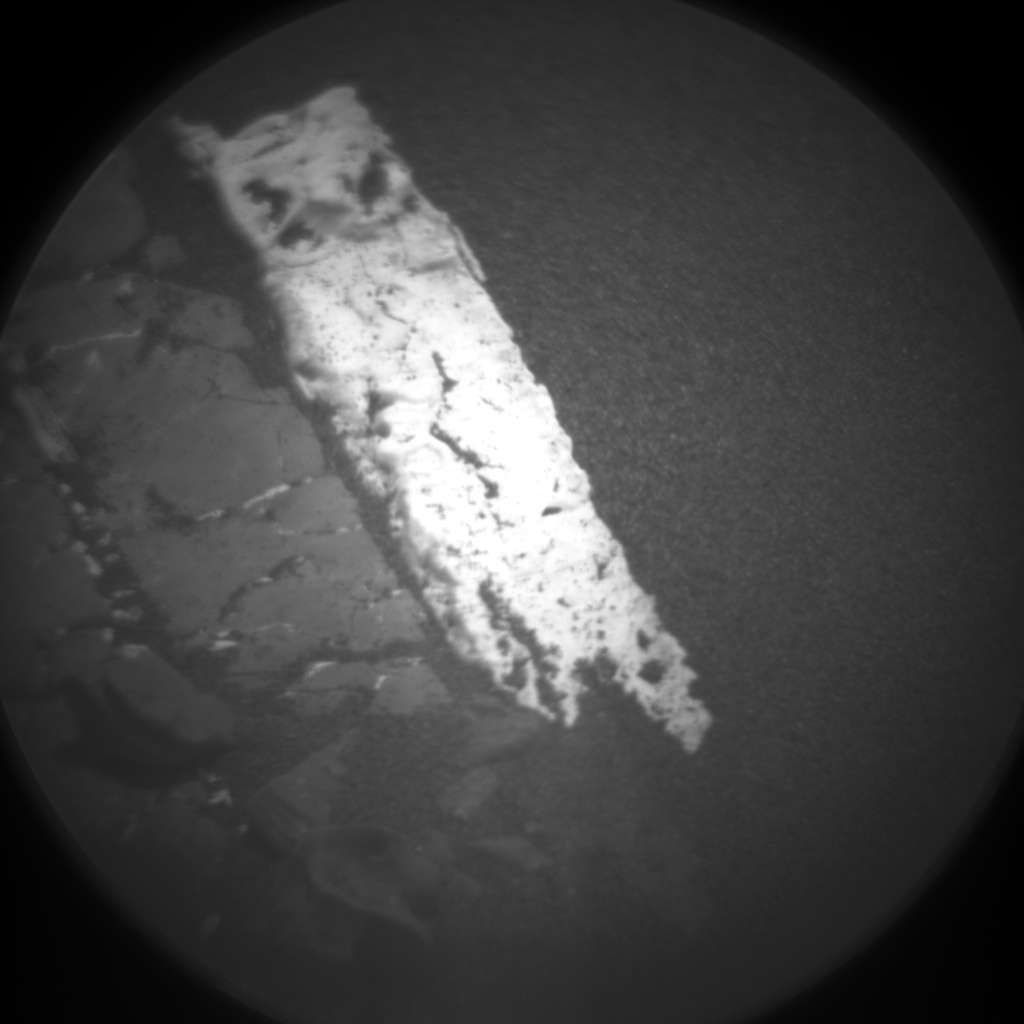Nasa's Mars rover Curiosity acquired this image using its Chemistry & Camera (ChemCam) on Sol 2250, at drive 550, site number 73