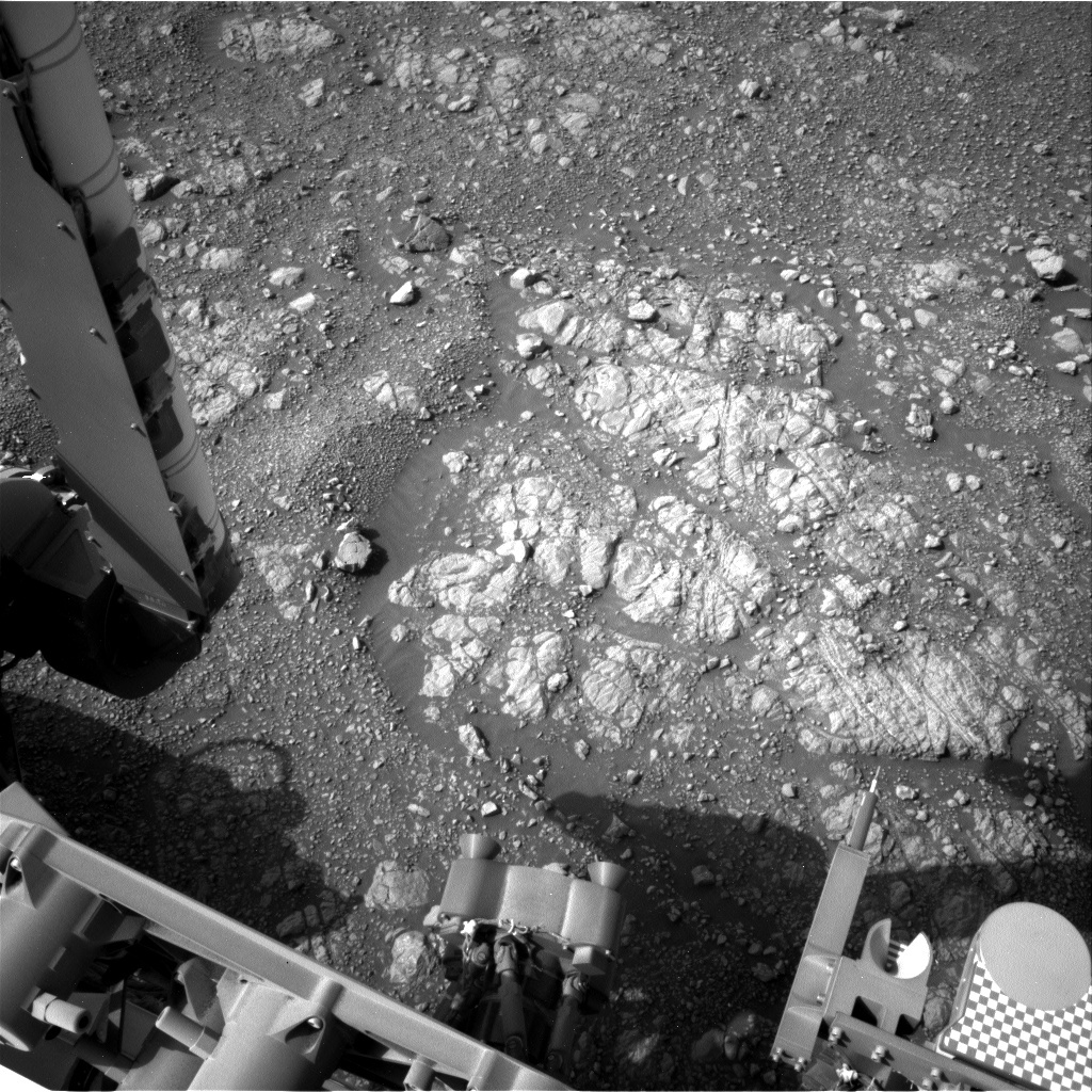 NASA's Mars rover Curiosity acquired this image using its Left Navigation Camera (Navcams) on Sol 2250
