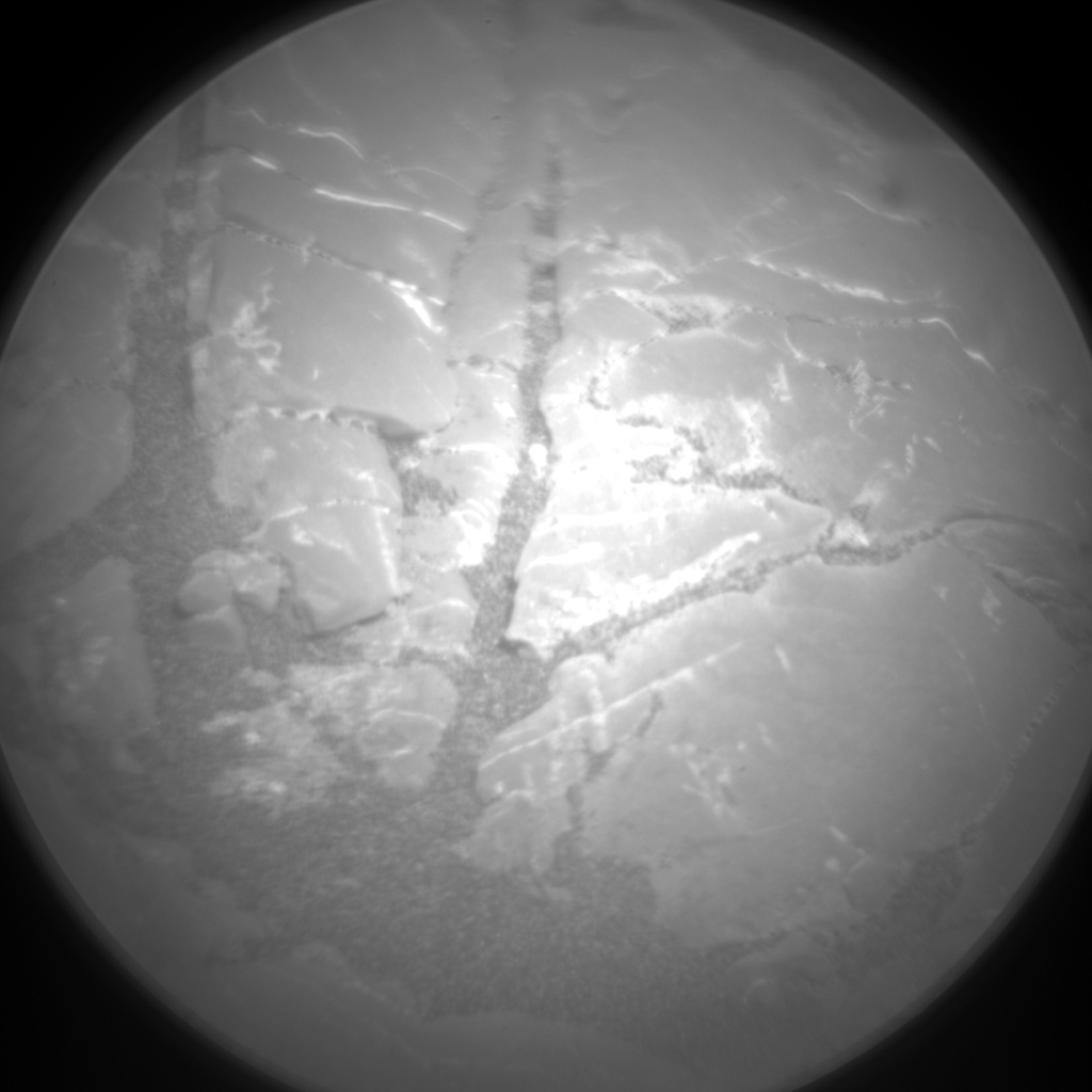Nasa's Mars rover Curiosity acquired this image using its Chemistry & Camera (ChemCam) on Sol 2251, at drive 722, site number 73