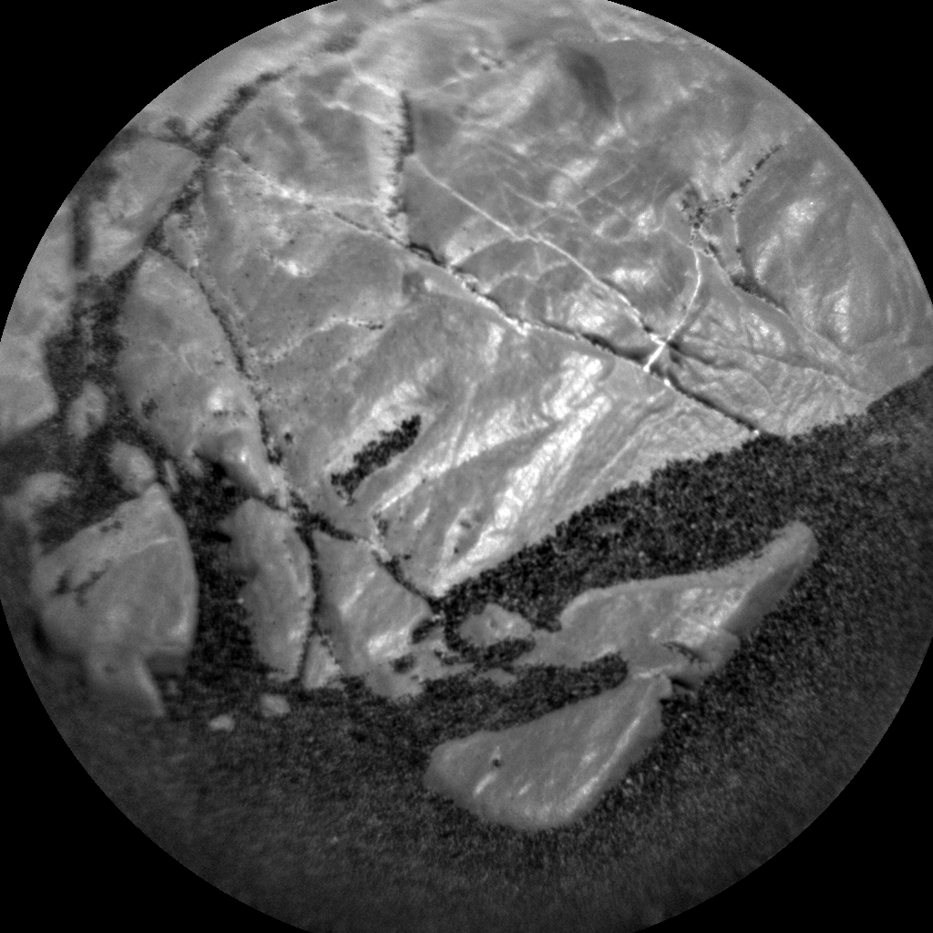 Nasa's Mars rover Curiosity acquired this image using its Chemistry & Camera (ChemCam) on Sol 2252, at drive 722, site number 73
