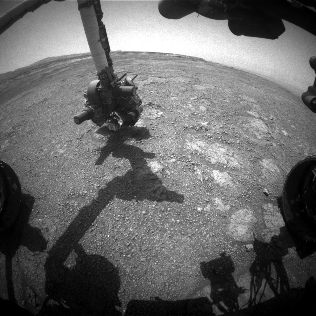 NASA's Mars rover Curiosity acquired this image using its Front Hazard Avoidance Cameras (Front Hazcams) on Sol 2259