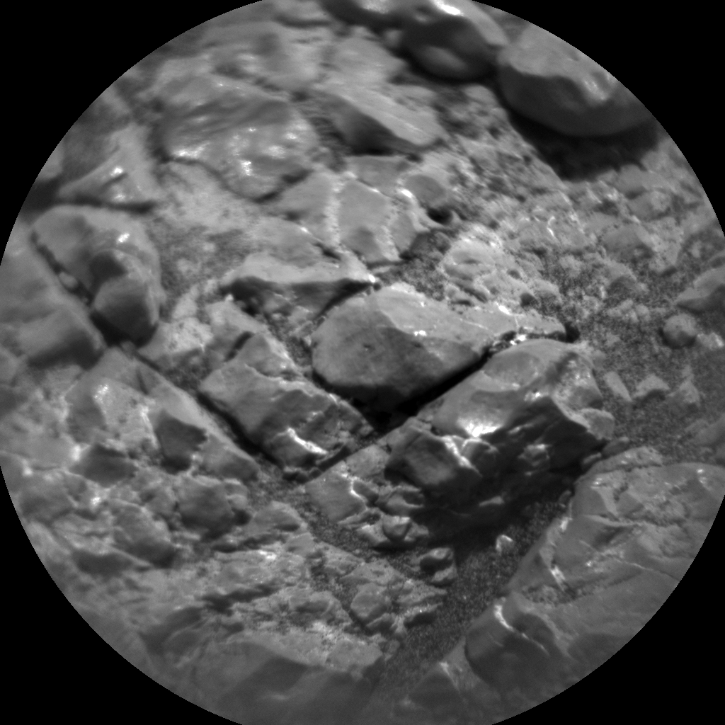 Nasa's Mars rover Curiosity acquired this image using its Chemistry & Camera (ChemCam) on Sol 2259, at drive 1206, site number 73