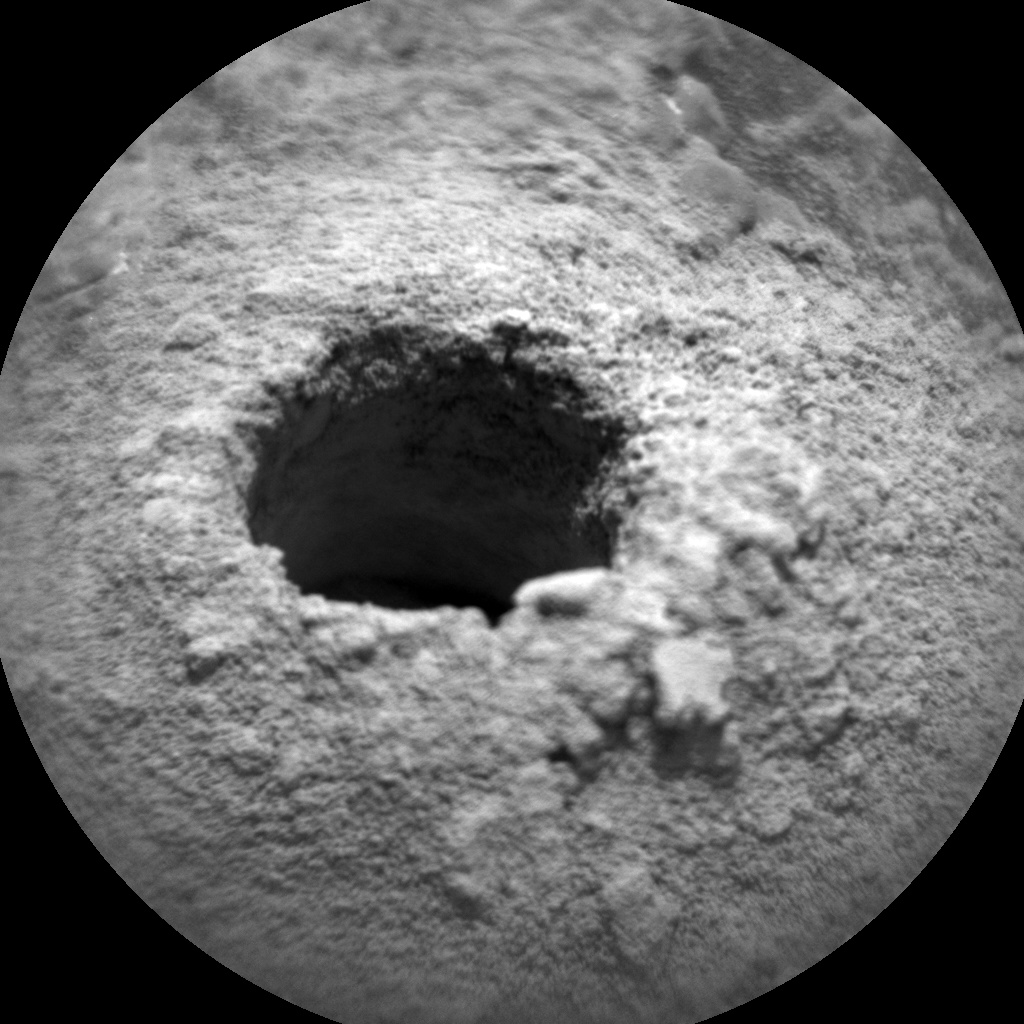 NASA's Mars rover Curiosity acquired this image using its Chemistry & Camera (ChemCam) on Sol 2262