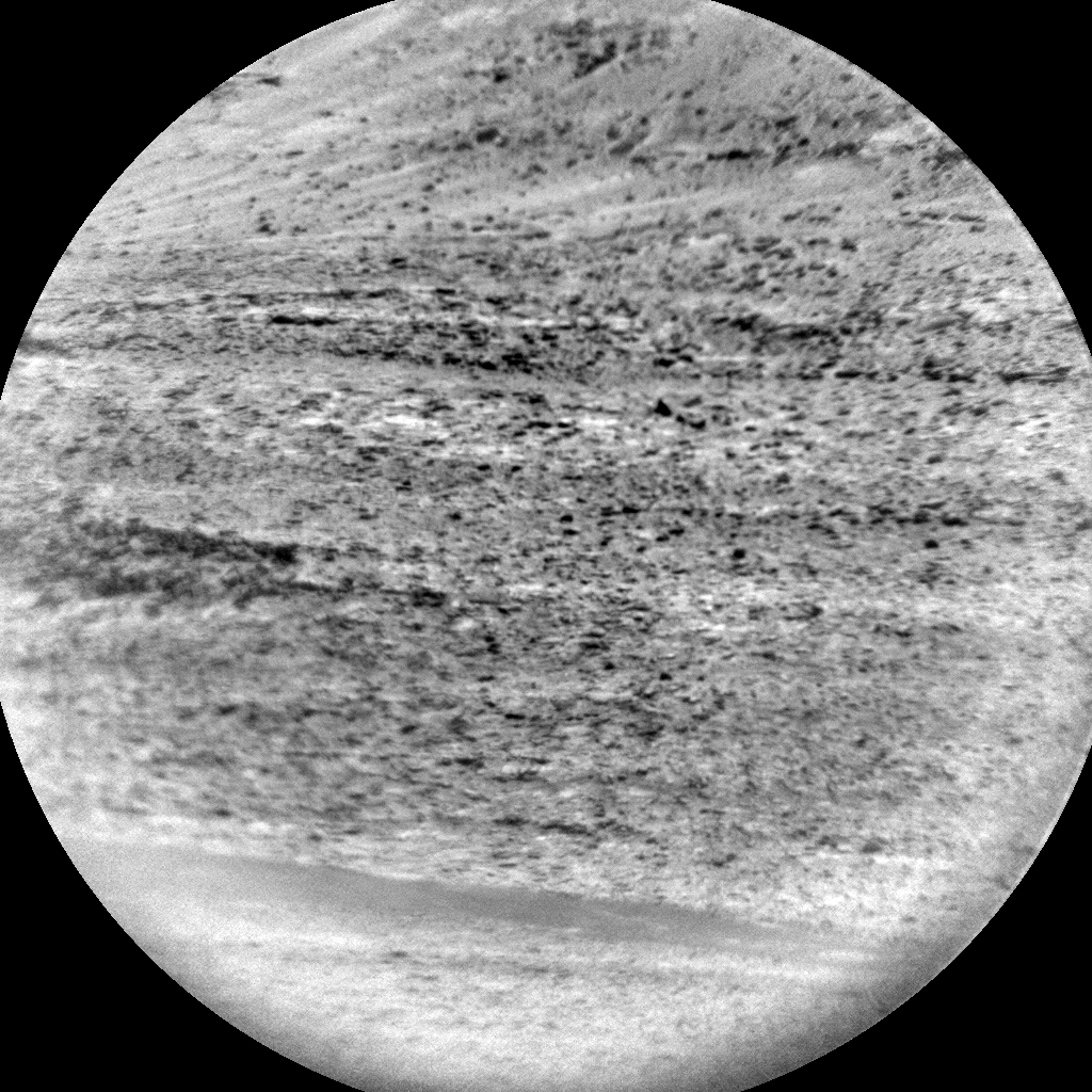 Nasa's Mars rover Curiosity acquired this image using its Chemistry & Camera (ChemCam) on Sol 2262, at drive 1206, site number 73