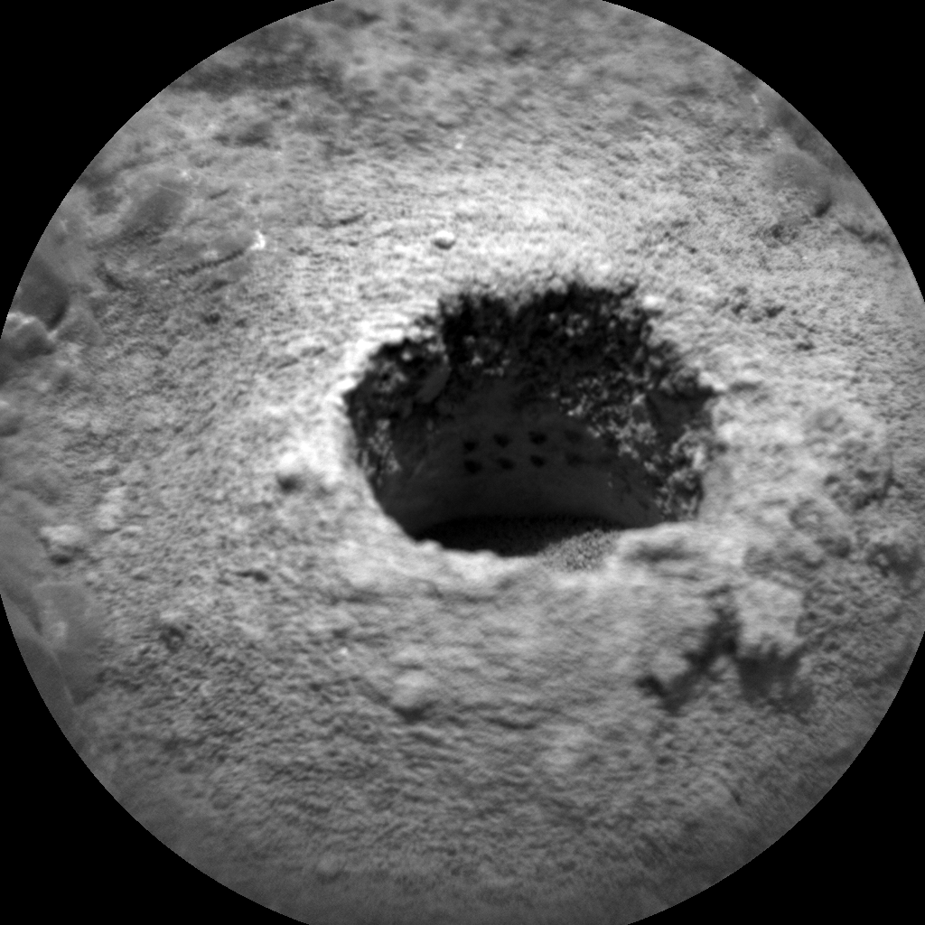 Nasa's Mars rover Curiosity acquired this image using its Chemistry & Camera (ChemCam) on Sol 2263, at drive 1206, site number 73
