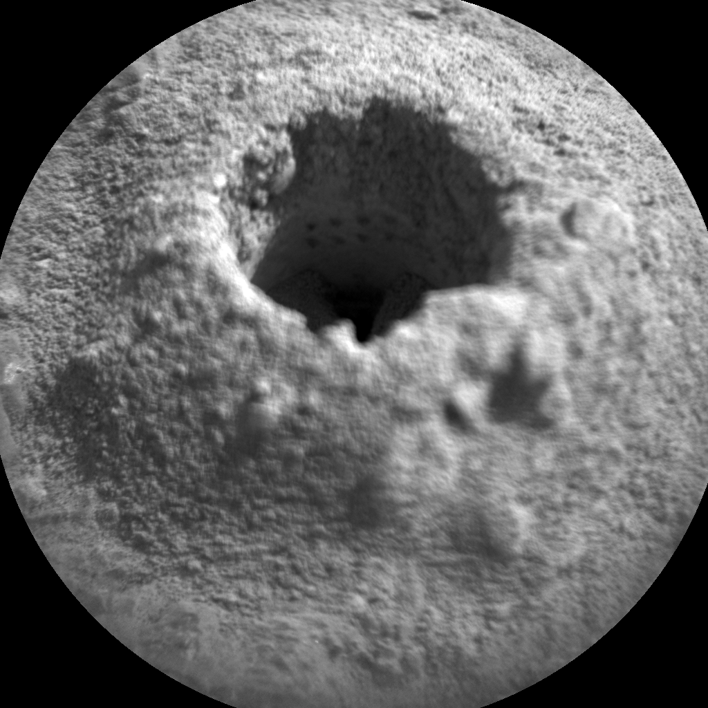 Nasa's Mars rover Curiosity acquired this image using its Chemistry & Camera (ChemCam) on Sol 2264, at drive 1206, site number 73