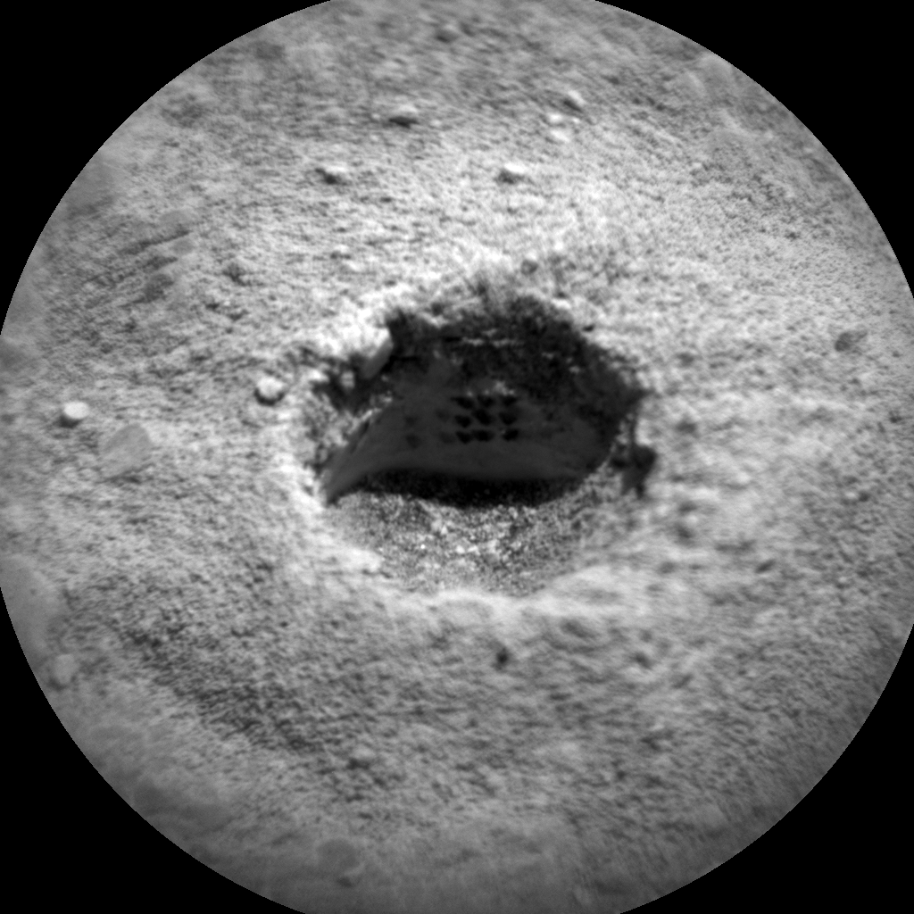 Nasa's Mars rover Curiosity acquired this image using its Chemistry & Camera (ChemCam) on Sol 2282, at drive 1206, site number 73