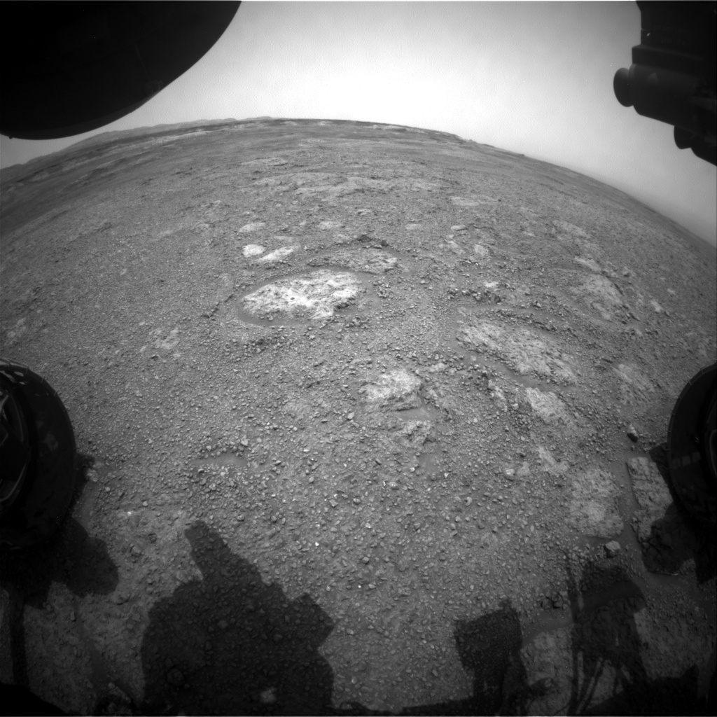 NASA's Mars rover Curiosity acquired this image using its Front Hazard Avoidance Cameras (Front Hazcams) on Sol 2286