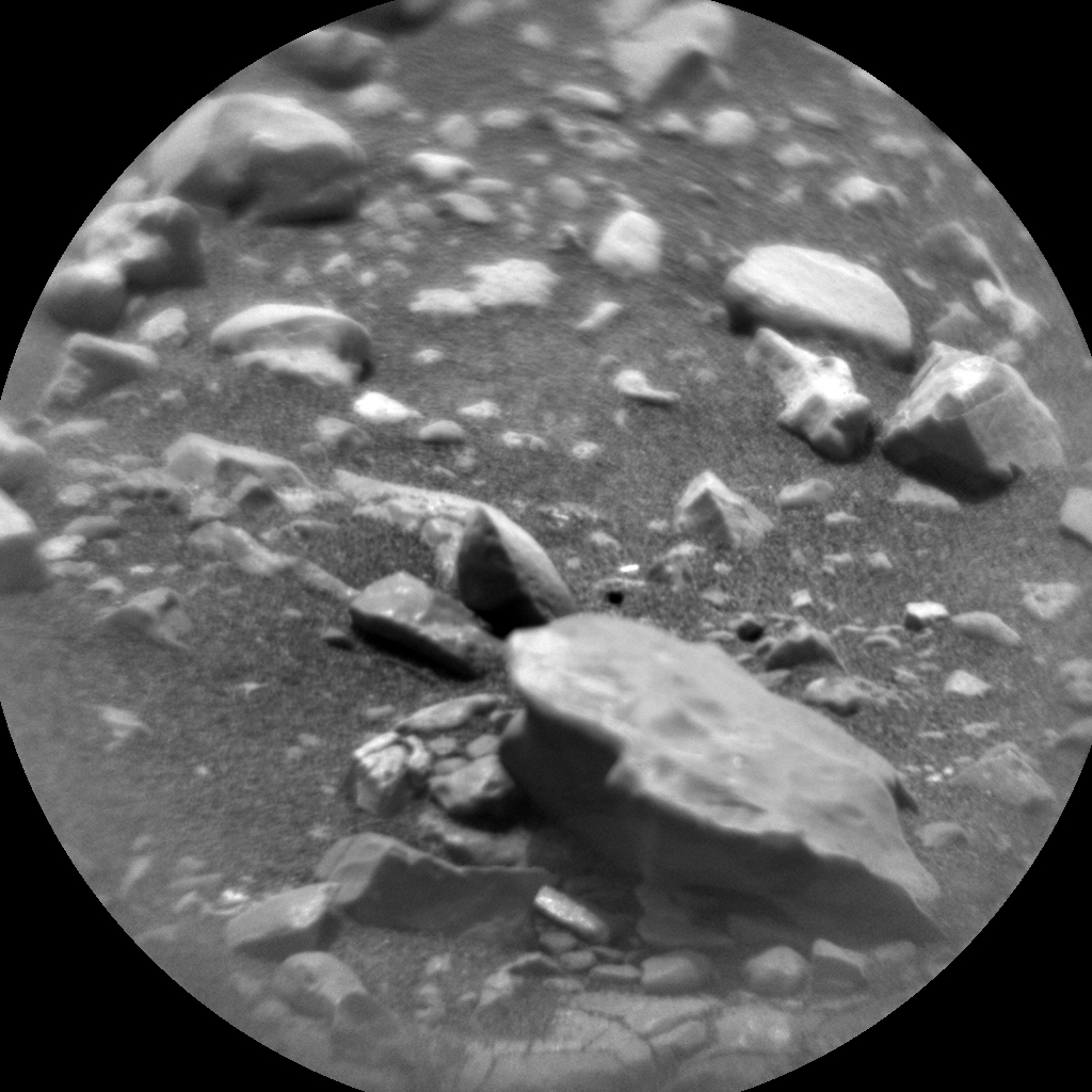 Nasa's Mars rover Curiosity acquired this image using its Chemistry & Camera (ChemCam) on Sol 2286, at drive 1206, site number 73